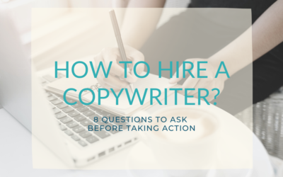 8 questions that help you find the perfect copywriter
