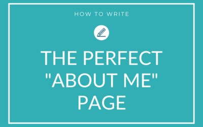 6 steps to write the perfect About Me page