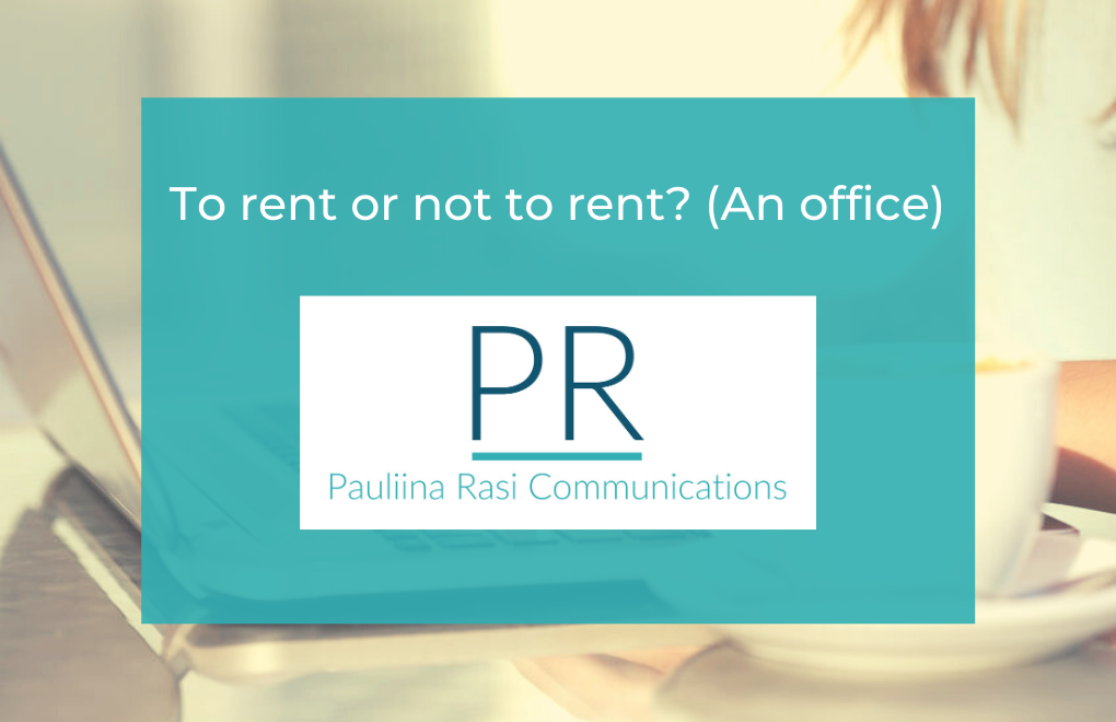 To rent or not to rent? (An office)