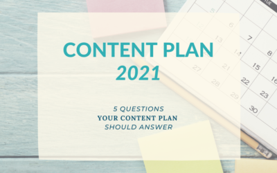 Content Plan 2021