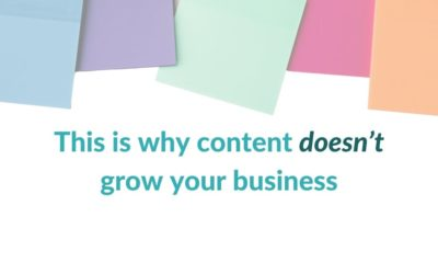 This is why content doesn't grow your business